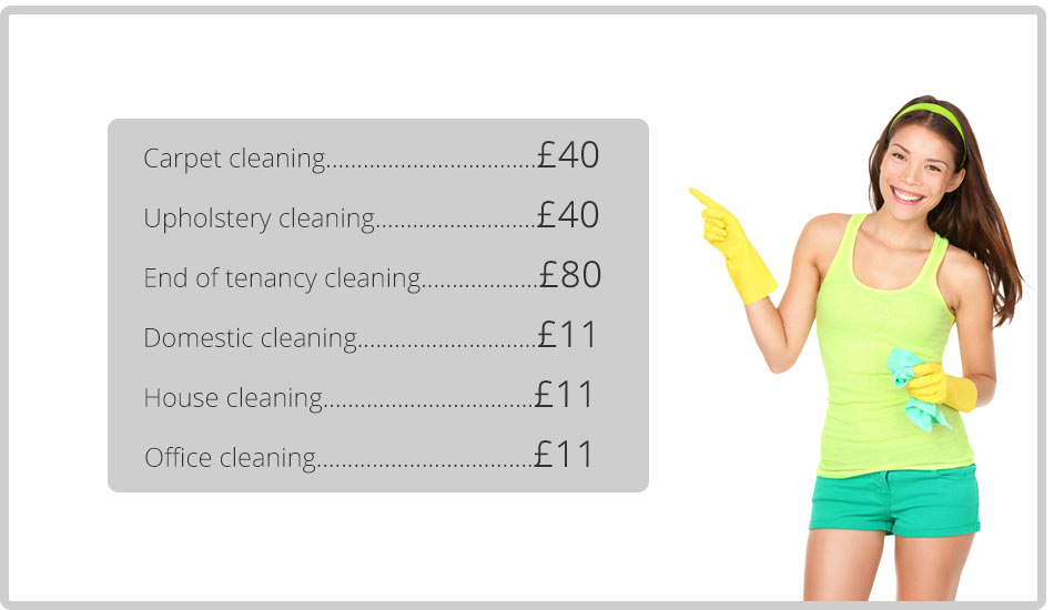 Notably Low Prices on Professional Cleaning Services in Islington